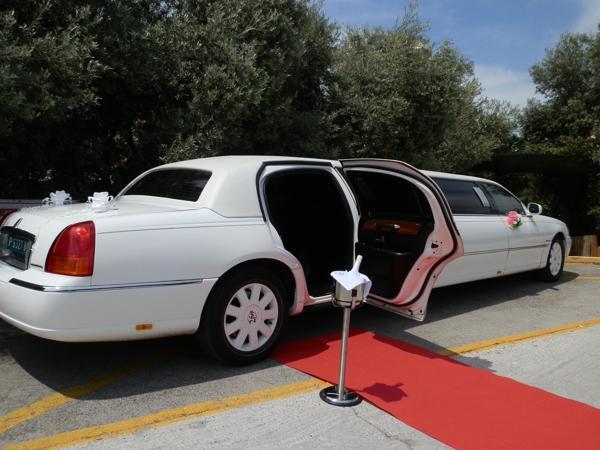 VIP limousine wedding service