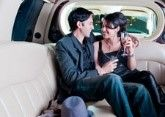 Limousines for romantic dinner and betrothal