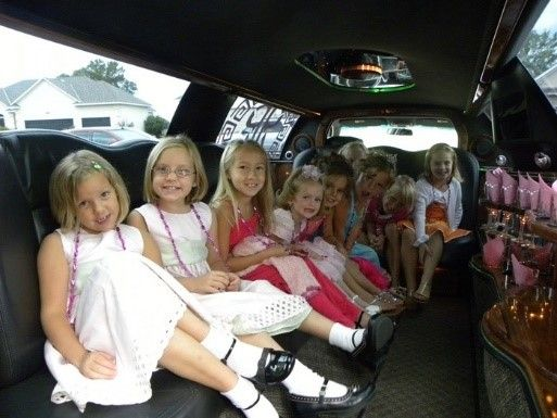 Limousines for Birthday